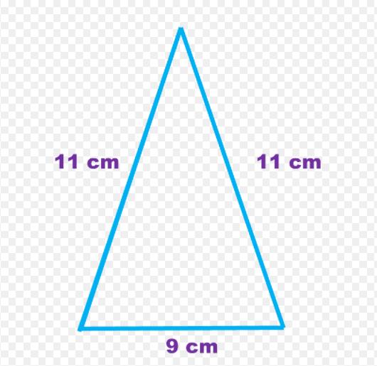 triangulo de los lados iguales