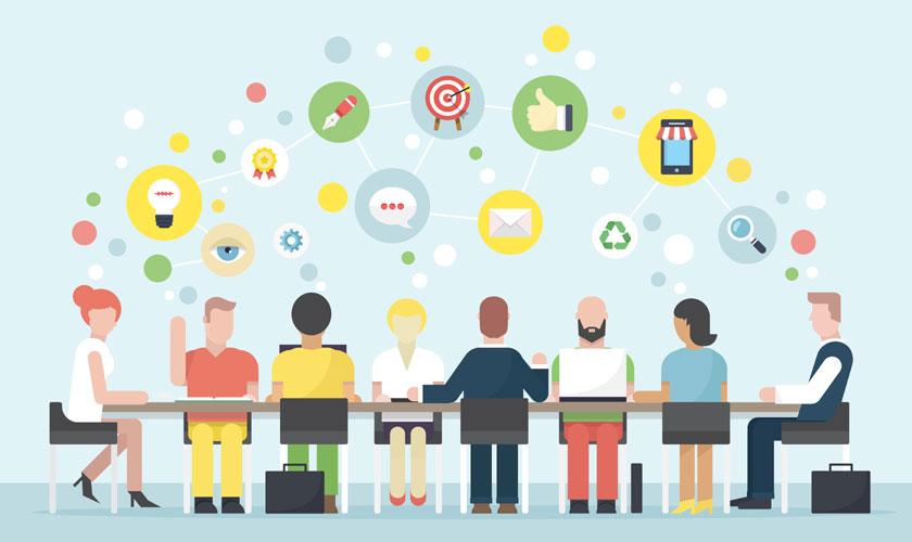 planificar reuniones de trabajo