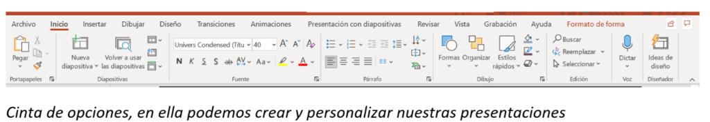 funciones de powerpoint
